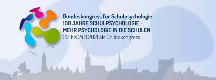 24. Bundeskongress für Schulpsychologie Anmeldung seit dem 21.06. möglich.